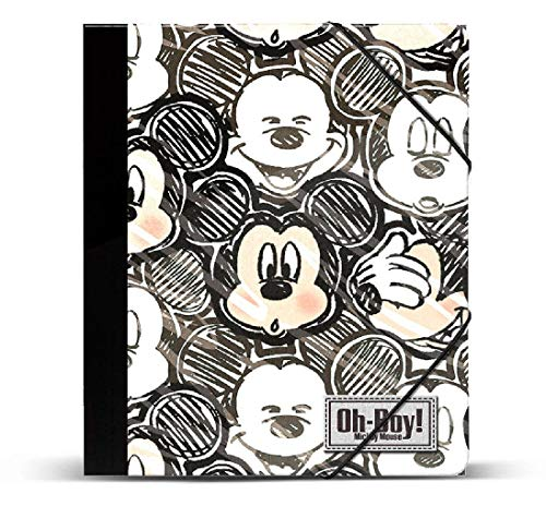 Mickey Mouse- Carpetas, (Karactermania KM-37552)