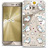 Caseink - Coque Housse Etui ASUS Zenfone 3 ZE520KL (5.2) [Crystal Gel Motif...