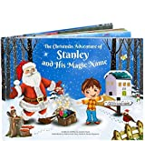 Magical Personalised Christmas Story Book - Every Child's Name Creates a Totally Unique Story - Great Xmas Gift Stocking Filler
