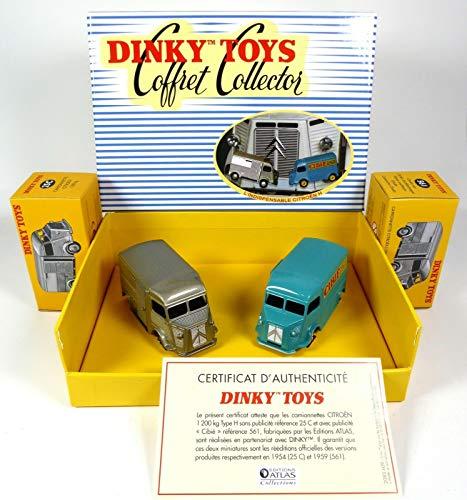Hy Set (OPO 10 - Atlas Dinky Toys 1/43 - 2er-Set Citroen HY Typ H: Cibié + Grau 25C / 561)