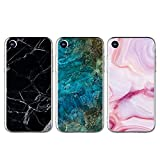 Coque pour iPhone XR TPU, GuardGal Gel Flexible Doux Marbre Peint Motif Caoutchouc...