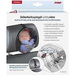 REER Rétroviseur bébé accessoires voiture, noir