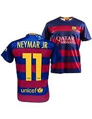 CAMISETA 1ª EQUIPACION REPLICA OFICIAL FC BARCELONA NEYMAR JR NIÑO (6)