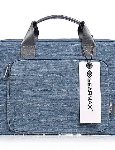 zzll151 Leinwand Laptop-Tasche Fall Aktentasche Notebooktaschen für Apple MacBook Pro Luft 13.3