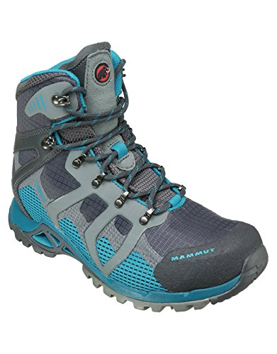 Mammut Comfort High GTX Surround Women - Trekkingstiefel - black/graphite graphite-pacific