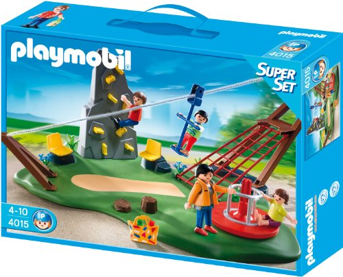 Preisvergleich Produktbild PLAYMOBIL 4015 - SuperSet Aktiv-Spielplatz