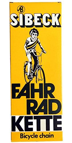 Fahrrad Kette passend für Rücktrittbremsnaben und Nabenschaltung (Rücktrittbremse Fahrrad)