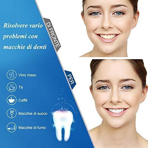 Teeth Whitening Kit Bleaching Gel - Zahnaufhellung - für Weisse Zähne Bleaching Zähne Zu Hause Professionelle Zahnaufhellung Set Zahnweiß-Bleichsystem,10x Teeth Whitening 2x Dental Trays Gel Kit
