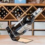 Porte-bouteilles créatif, Porte-bouteilles en forme de nœud, convient au cadeau de...