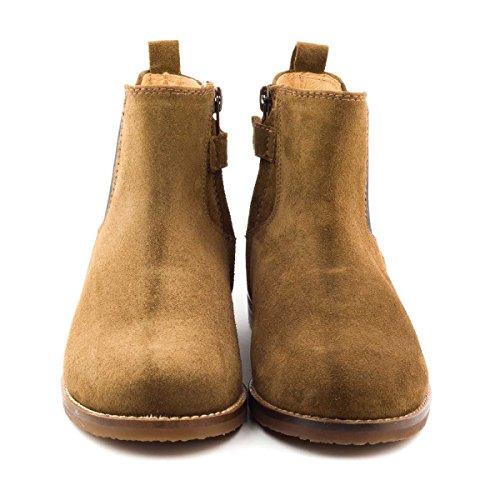 Boni Orlando - boots enfant en cuir Marron