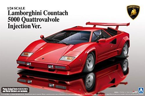 '88 1/24 Super Series coche No.18 Lamborghini Countach segunda mano  Se entrega en toda España