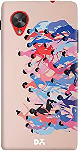 DailyObjects Dance Party Case For LG Google Nexus 5
