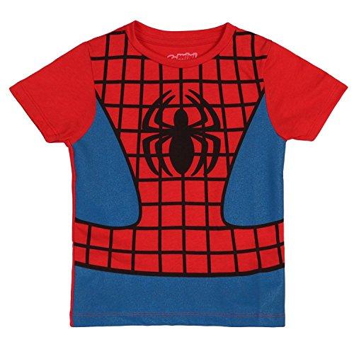 an Juvy Kostüm T-Hemd | 7 (Spider Man Boy Kostüm)