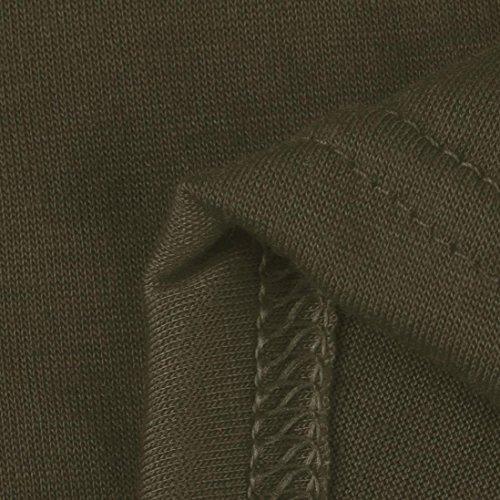 Sixcup -  Maglia a manica lunga  - Vestito - Donna Army Green