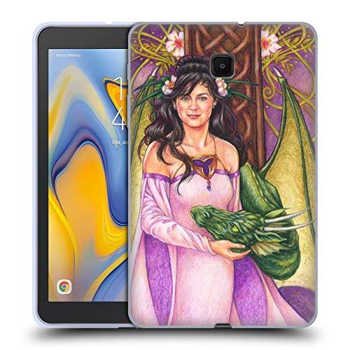 Head Case Designs Offizielle Jane Starr Weils Lauren Flüsterer Drachen Göttern Soft Gel Huelle kompatibel mit Galaxy Tab A 8.0 (2018) -