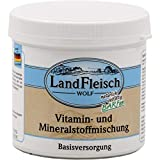 Landfleisch Wolf Vitamin + Mineralstoffmischung 400 Gramm Hunde Futterergänzung
