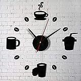 Decoracion de muebles, BaZhaHei, Moda acrílico DIY autoadhesivo pared interior decoración creativa reloj del Vinilos decorativos para el hogar de decoración hogareña Hogar y vida