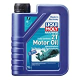 LIQUI MOLY 25021 Bootsmotoröl 2T Marine Fully Synthetic, 1 L