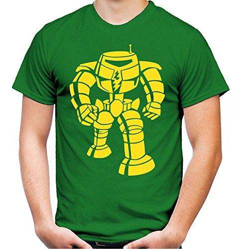 Sheldon Roboter Männer und Herren T-Shirt | Spruch Cooper Geschenk (L, (Sheldon Cooper Kostüme)