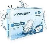 Wessper® AQUAMAX Filterkartuschen / Wasserfilter Kartuschen kompatibel mit Anna Duomax Pack 10