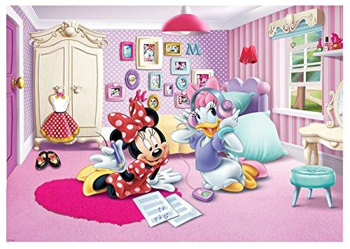 Foto Tapete Disney Minnie Maus Mädchen Kinder Wand Wandbild (1579ve), 208cm x 146cm - Kinder, Tapete, Mädchen, Disney