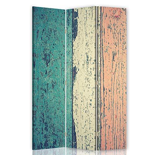Feeby Pared divisoria Abstracción 3 Paneles Unilateral Vintage Retro