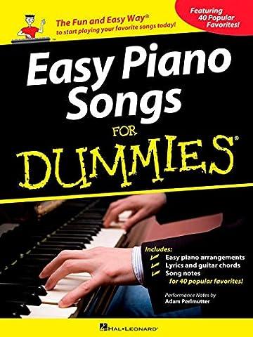 Easy Piano Songs For Dummies. Für Klavier
