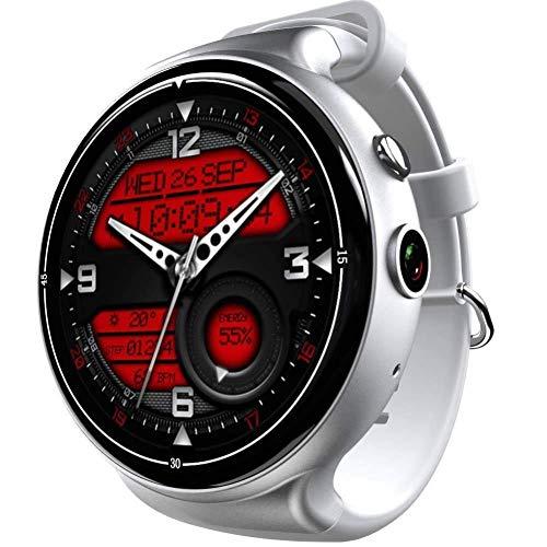 Fitness-Tracker, Schrittzähler-Uhr und Schlaf-Monitor-Kalorienzähler-Uhr, dünnes intelligentes Armband für Kinder, Damen und Männer (Farbe : Silber grau)