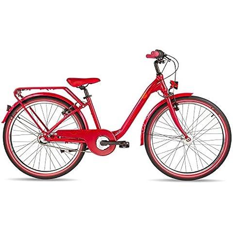 s'cool chiX pro 24-3 - Bicicletas para niños - rojo 2017