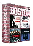 Coffret Welcome To Boston : Strictly Criminal + Spotlight + The Town + Mystic River