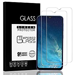 Jacess Panzerglasfolie [2 Stück] für Samsung Galaxy A50/A50S ,Galaxy A50/A50S Panzerglas, wirklich Kratzfest [Vollständige Abdeckung] [Einfach anzubringen] [Blasenfrei]