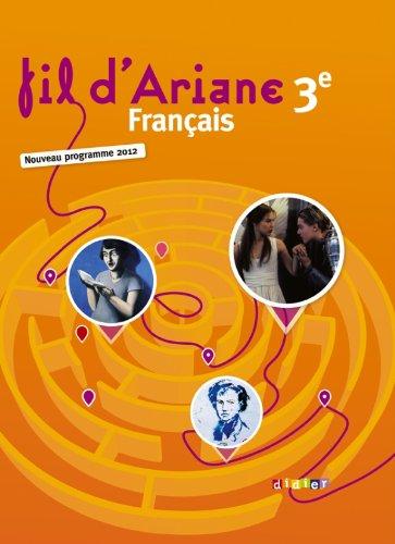 Fil d'Ariane 3e - Manuel grand format