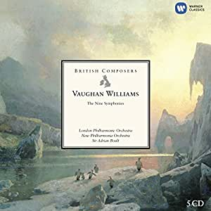Ralph Vaughan Williams : Les 9 Symphonies (Coffret 6 CD)