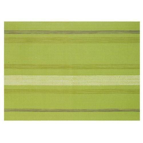 Torchons & Bouchons Set De Table Rectangulaire Tissé Vert Kiwi Paint - PVC