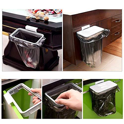 Kitchen Hanger Trash Storage Rack Trash Bag Trash Bag Holder Cupboard Cabinet Tailgate Stand Storage Garbage Bag Holder (Garbage Bag Storage)