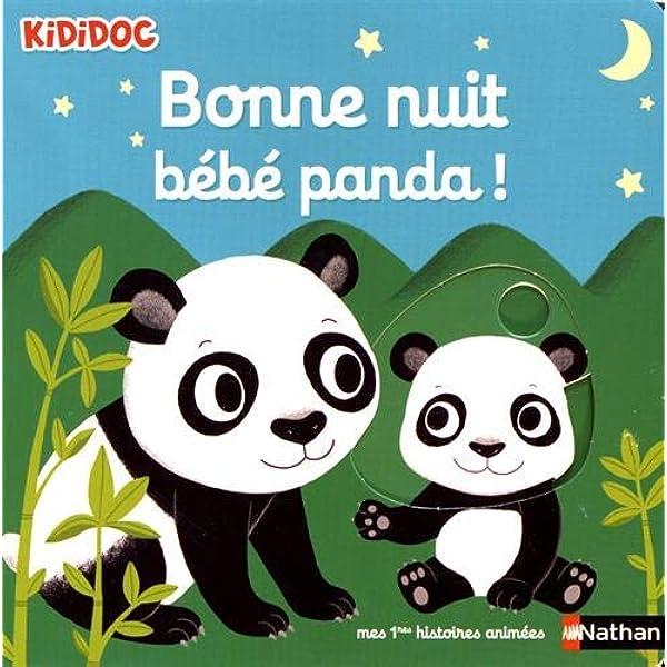 Bonne Nuit Petit Panda Livre Anime Kididoc Des 1 An Choux Nathalie Livres Amazon Fr
