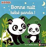 Bonne nuit petit panda ! Livre animé - Kididoc dès 1 an