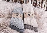 kb-Socken - 2 Paar Alpaka Socken Alpakasocken aus 100% Wolle Alpaka Strümpfe Wollsocken mit Schafwolle/Schurwolle