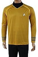 Daiendi Star Trek Into Darkness Captain Kirk Shirt Uniform Costume Yellow Version adult EU size