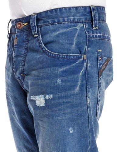 Timezone - Jeans Slim - Homme Bleu (atlantic blue wash)