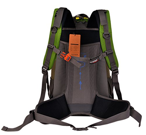 Imagen de  de senderismo, impermeable trekking  de nylon bolsa de viaje para explorar escalada ciclismo aventura acampada montañismo alternativa