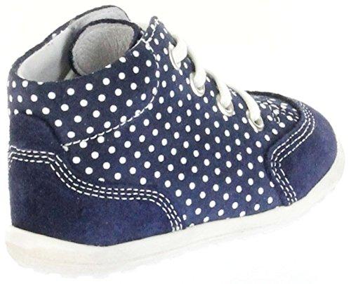 Richter De Capa De Mini Lace 0024 Veludo 7201 Couro Minis Crianças Sapatos Azul menina 736 AdWnYAqtw