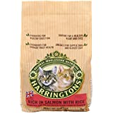 Harringtons Cat Food Complete Salmon with Rice 2 Kg (Pack of 4)