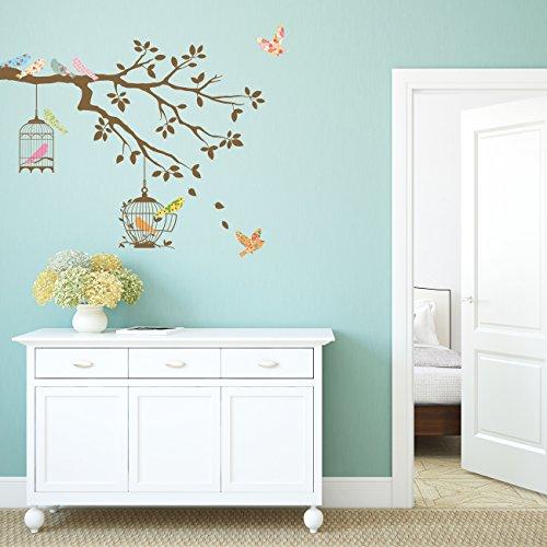 decowall-dw-1510br-oiseaux-sur-branche-darbre-avec-cages-a-oiseaux-autocollants-muraux-mural-sticker