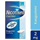 Nicotinell Kaugummi 2 mg Cool Mint (Minz-Geschmack), 24 St. - Für die schrittweise Raucherentwöhnung und den sofortigen Rauchstopp geeignet