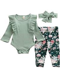 mit Kapuze Kleinkinder greatmtx Baby-Kleidungs-Set f/ür Neugeborene Oberteil und Hose und Stirnband