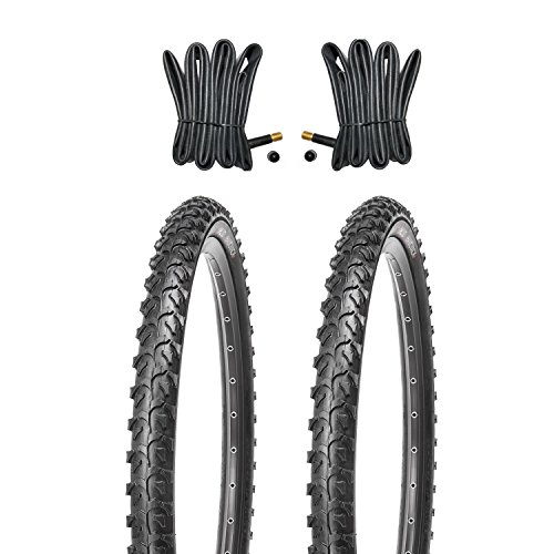 Kujo MTB Reifen Set 24x1.95 inkl. Schläuche mit Autoventilen