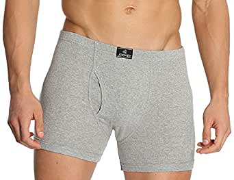 Jockey Men's Cotton Trunks (8901326018422_8008-0110- Grey Melange_X-Large)