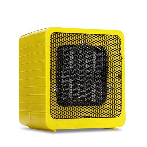YSCCSY Chauffe-Eau Chaud Ventilateur Portatif Ventilateur Salle À Moteur Électrique Maniable Radiateur À Air Comprimé Mini Électrique Chauffage Domestique Bureau,Yellow