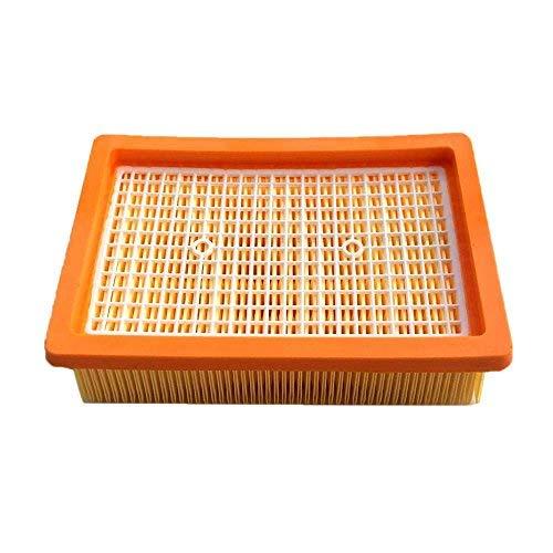 AM Flachfaltenfilter Filter für Staubsauger Kärcher MV4 MV5 MV6 WD4 WD5 WD6 Premium/Car Kit Lamellenfilter Ersetzt 2.863-005.0/28630050